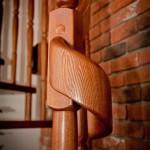 tralka schodów drewnianych