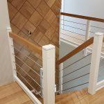 Dywanowe schody samonomonośne